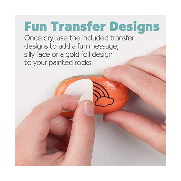 Creativity-for-Kids-Hide-Seek-Rock-Painting-Kit-Arts-Crafts-For-Kids-Includes-Rocks-Waterproof-Paint