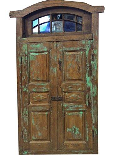 Vintage Antique Doors Rustic Patina Architecture Double