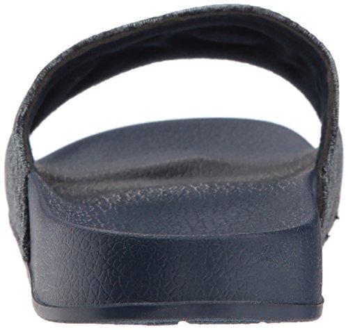 Roxy Kvinner Glatt Tekstil Lysbilde Sport Sandal Navy