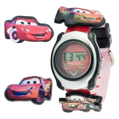 Disney Kids' CRS003 Cars Digital Interchangeable Sliding Cars Watch - Disney Interchangeable Watch