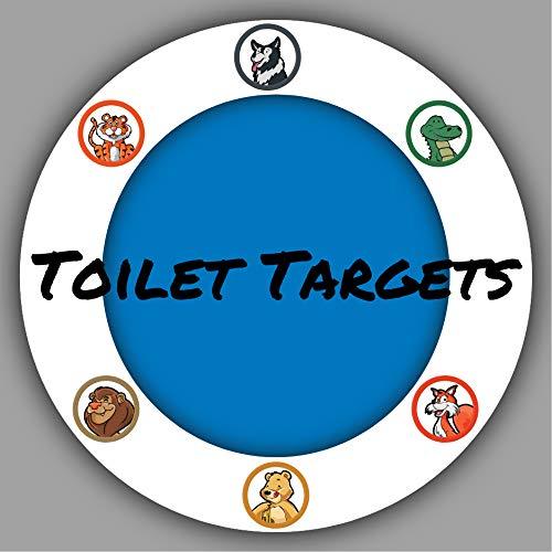 (Toilet Targets Potty Training Animals )