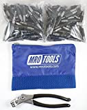 150 5/32 Heavy Duty Cleco Fasteners + Cleco Pliers w/ Carry Bag (KHD1S150-5/32)