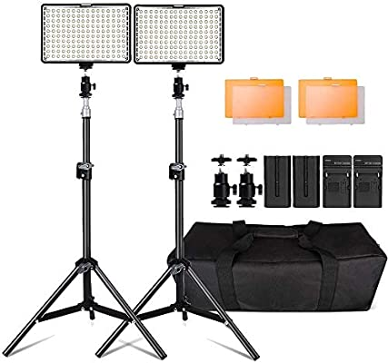 Kit de LED Iluminación,Yeeteem 160 Regulable Ultra High Power ...