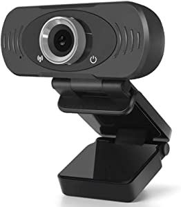 1080P HD Webcam with Microphone, PC Laptop Desktop USB Webcams, Pro Streaming Computer Camera for Video Calling, Recording, Conferencing, Gaming, 90-Degree Widescreen Web Camera with Rotatable Clip