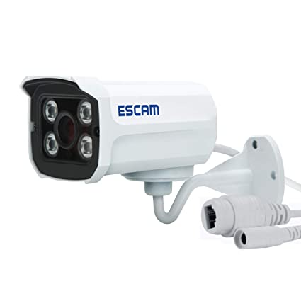 KUNCC Cámara IP para Exteriores, Cámara De Vigilancia Inalámbrica 720P P2P Cloud HD Home Security