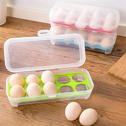 Buy Skywalk 10 Egg Storage Box Plastic Food Chicken Egg Holder