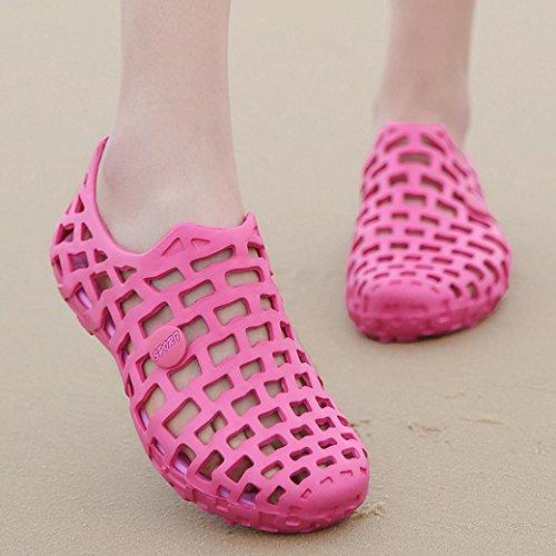 Rose Femme Basses wuayi Sneakers Vif ATqw8qtf