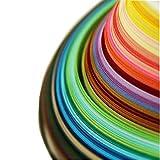 Paper Quilling Strips set (1200 pcs 3x540mm 40 colors Pack of 3 Sets)