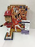 Nelson Cruz Texas Rangers Slugger And All Star Autographed Signed Rangers Sga Bobblehead JSA Authentic