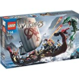 LEGO VIKINGS Ship Challenges the Midgard Serpent (7018)