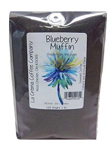La Crema Coffee Company Bulk Blueberry Muffin, 2 Pound