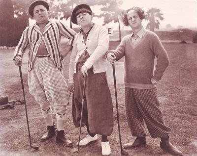 anonymous - The Three Stooges: Golf NO Longer in Print - Last ONE!!