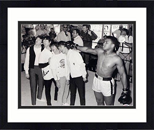 Framed Muhammad Ali Autographed 16