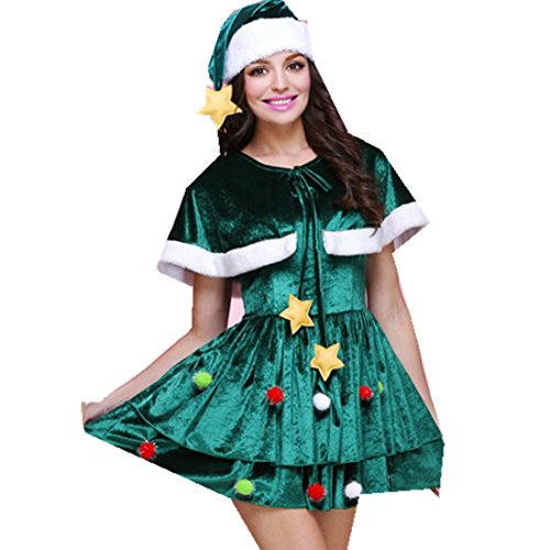 [MV Women Snowman Christmas Party Set Bar DS Costumes Sexy Bunny Cosplay Dance] (Snowman Dance Costumes)