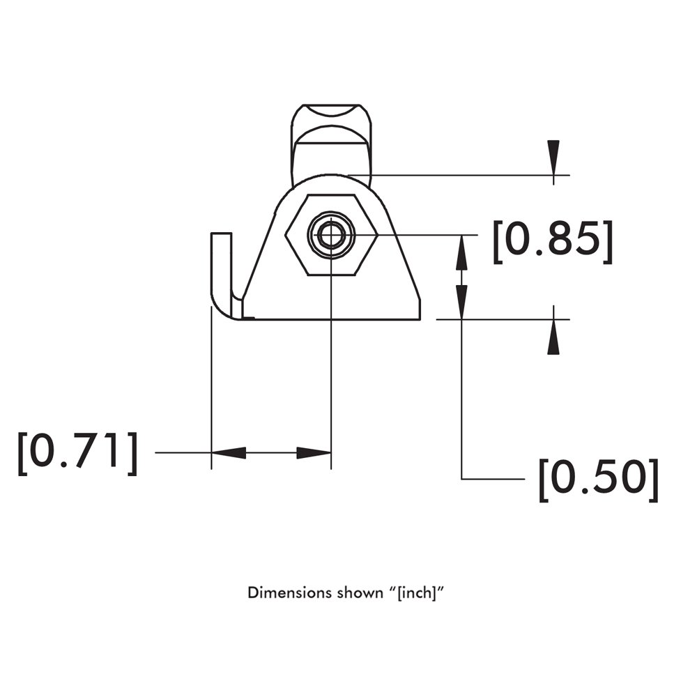 DE-STA-CO 6001 Plunger Clamp