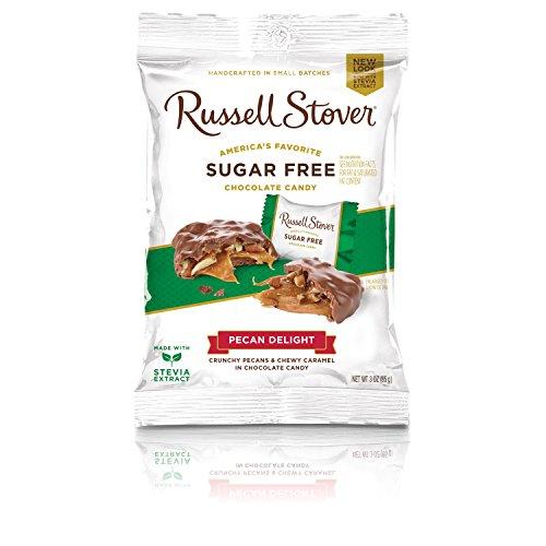 (Sugar Free Pecan Delights, 3 oz. bag)