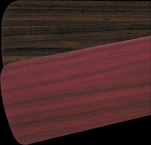 - Quorum 5255524125, Five Reversible Rosewood/Walnut Blades, 52