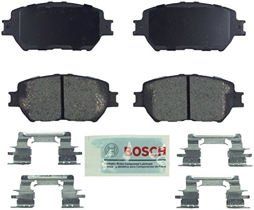 (Bosch BE908H Blue Disc Brake Pad Set with Hardware)