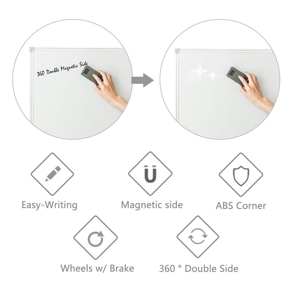 Amazon.com: ShowMaven - Pizarra de borrado en seco magnética ...
