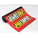Short Red Pro Taper Soft Impact Absorbing Dense Foam Protector Accessories for Various Wheeled Vehicles w/ Crossbars (7.87in Length)