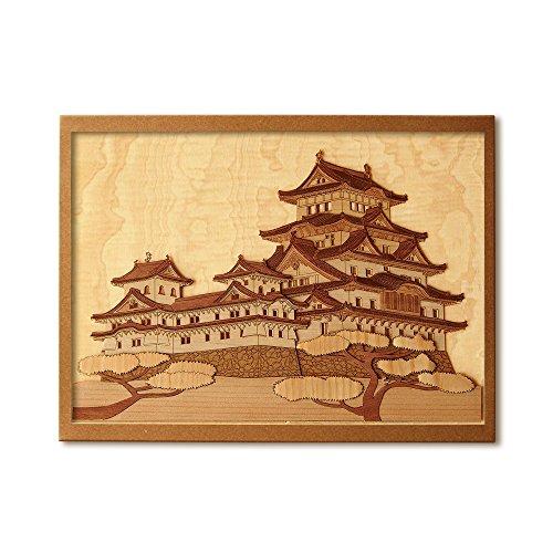 KINOWA Wooden Art Kit Kiharie Himeji Castle Made in Japan