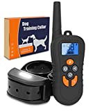 Cheap Brefac Dog Training Collar – Sport Shock Collar with Remote for Large Small Medium Dogs E Collars w/Night Light Electric Shock Beep Vibration