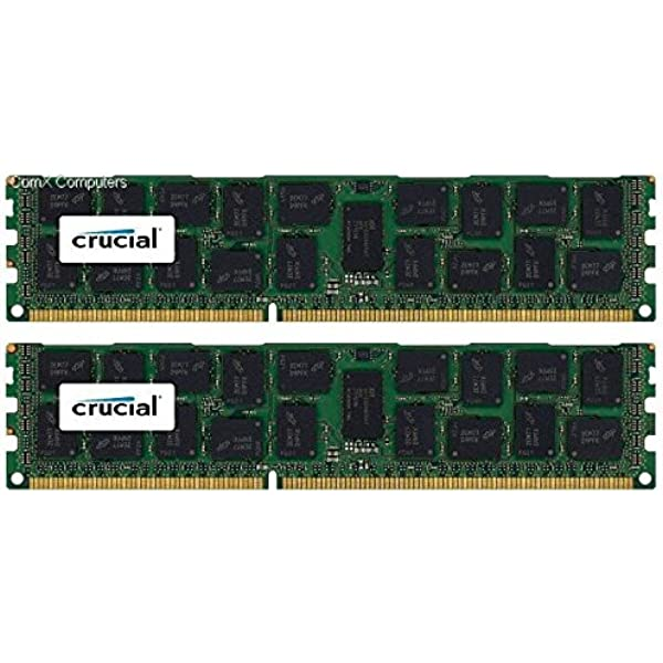 Certified Refurbished 32GB PC3-12800R 1600MHz DDR3 ECC Registered Memory Kit for a Supermicro X9DRFF-iTG+ Server 4x8GB