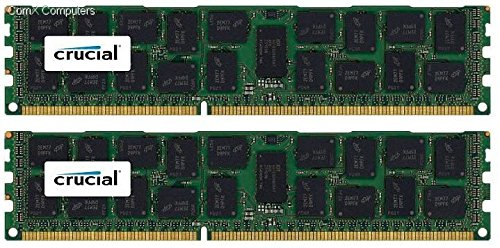 Crucial Server Ram (Crucial 32GB Kit (16GBx2) DDR3/DDR3L-1600 MT/s (PC3-12800) DR x4 RDIMM Server Memory CT2K16G3ERSLD4160B /)