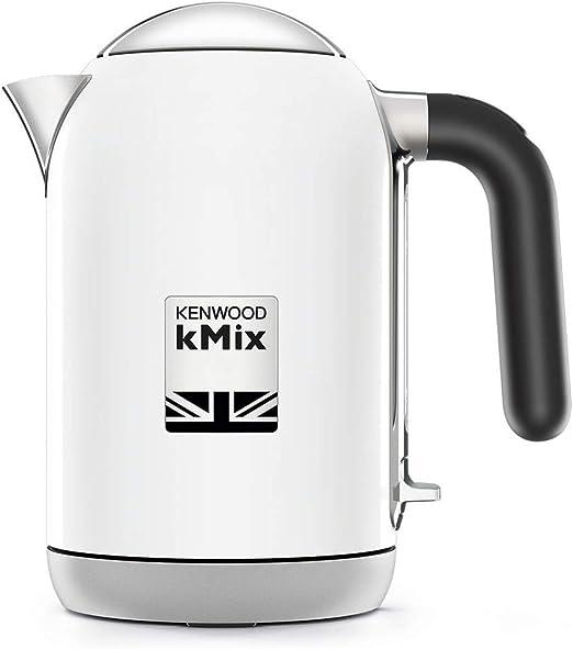 Kenwood kMix - Tetera eléctrica (1 L, 2200 W, Blanco, Metal ...