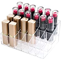Anitofo Transparent Lipstick Storage Box Display stand cosmetic grid