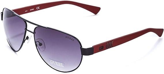 GUESS Factory Men's Chevron-Temple Aviator Sunglasses