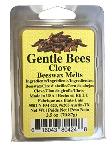 Gentle Bees Clove Leaf Beeswax Melts (Clove Aromatherapy)