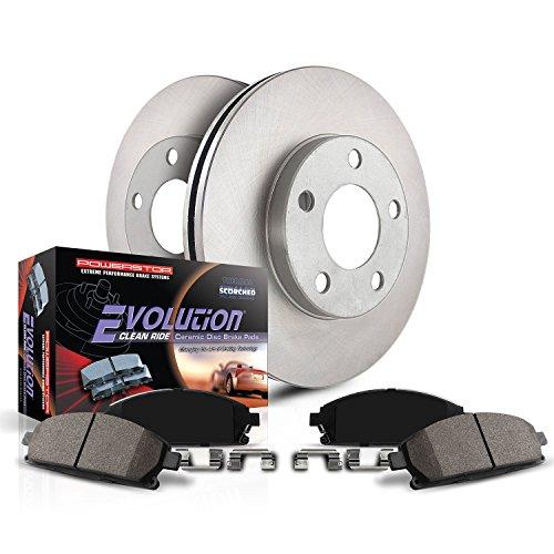 Power Stop KOE7299 Front Stock Replacement Brake Kit ()