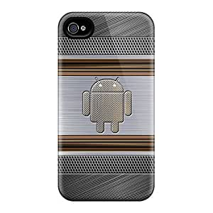 Slim Fit Tpu Protector Shock Absorbent Bumper Android Case For Iphone 4/4s by supermalls