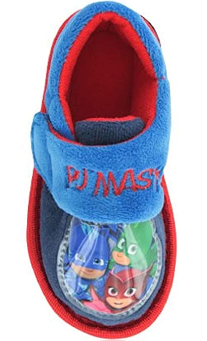 PJ Masks Boys Roan Low Top Slippers Blue 4 UK Child
