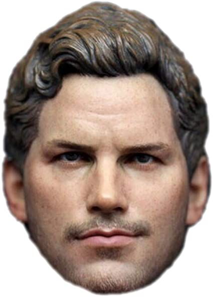 Doll Head for 12 inch Action Figure HS044 HiPlay 1//6 Scale Male Figure Head Sculpt Handsome Men Tough Guy A