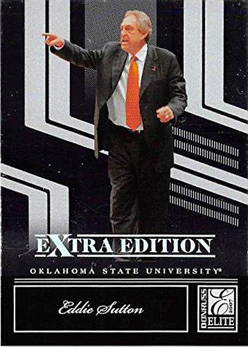 Eddie Sutton basketball card (Oklahoma State Cowboys NCAA Final Four Coach) 2007 Donruss Extra #69