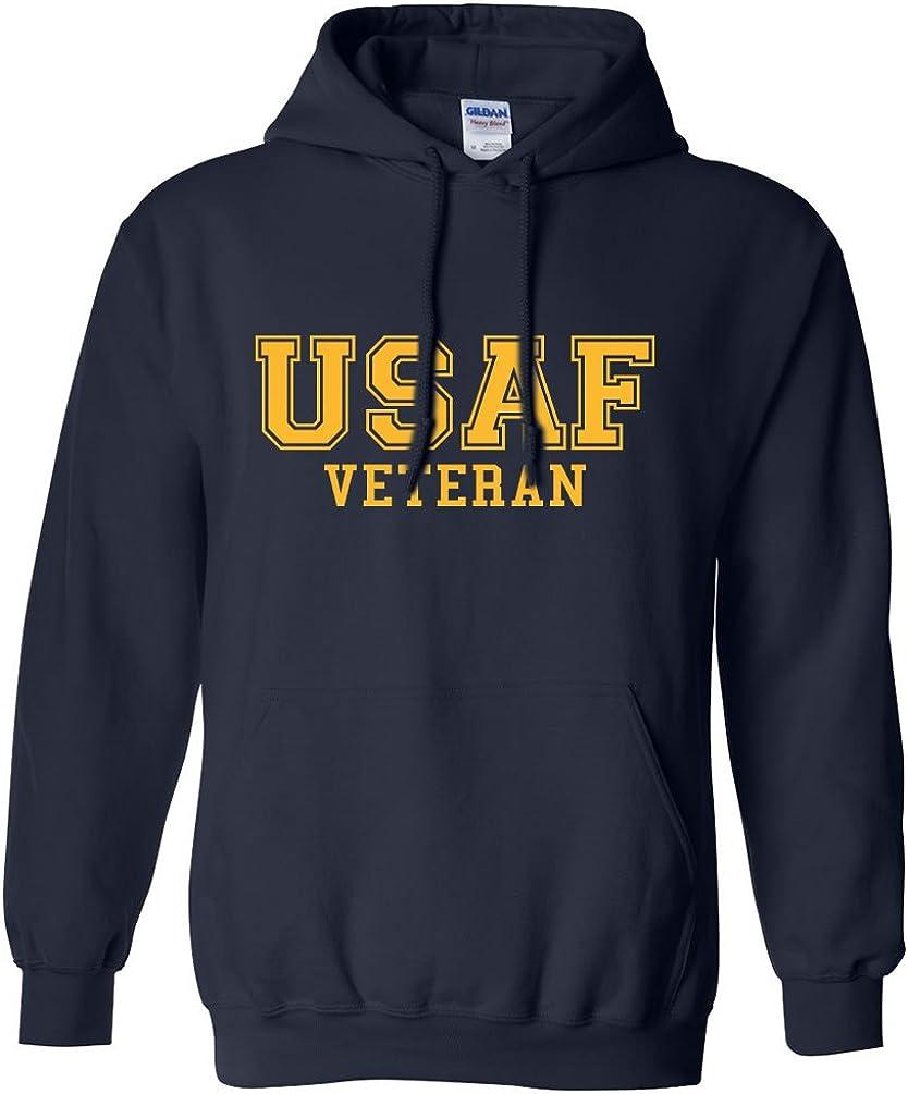 ZeroGravitee USAF Retired Gold Logo Hooded Sweatshirt
