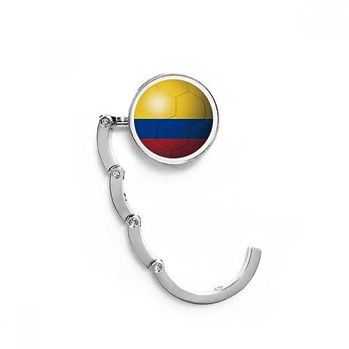 DIYthinker Colombia la Bandera Nacional de fútbol de fútbol ...