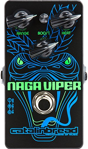 Catalinbread Naga Viper Modern Treble Booster Guitar Effects Pedal ()