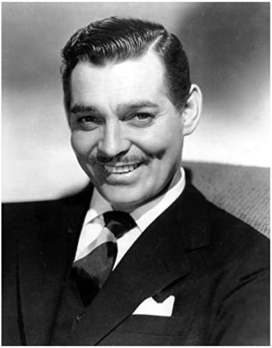 Clark Gable 8 x 10 Photo Devastatingly Handsome Smile Showing Dimple kn at  Amazon's Entertainment Collectibles Store