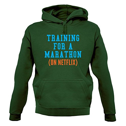 Dressdown Training On 12 Netflix Marathon For A Sweat Unisex pull Couleur Foncé Vert R1RqrwUn