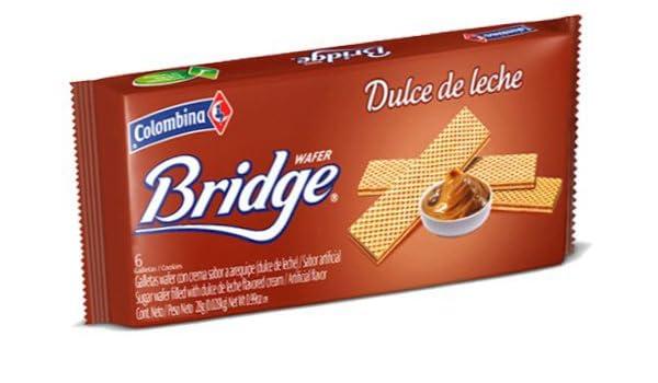 Amazon.com : Colombina Arequipe-Dulce de leche Bridge Wafer 5.3oz (3 Pack) : Grocery & Gourmet Food