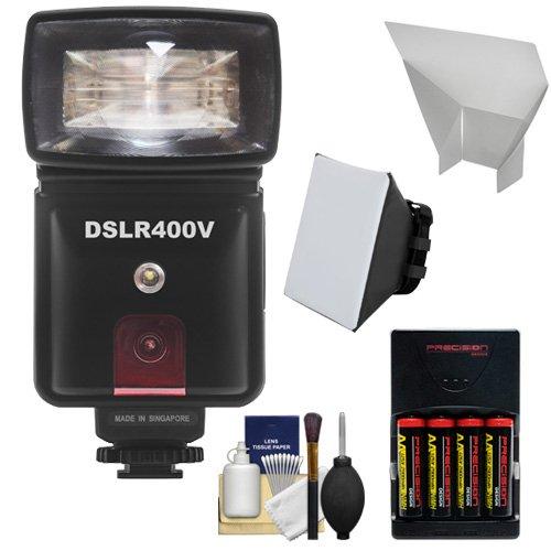 Precision Design DSLR400V High Power Auto Flash with LED Vid