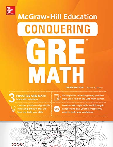 Pdf Test Preparation McGraw-Hill Education Conquering GRE Math, Third Edition