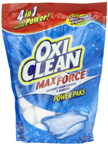OxiClean Max Force Power Paks, 30 Count, Health Care Stuffs