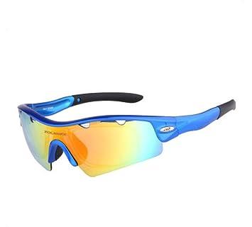 HUWQX Paseos en anti-vaho gafas gafas polarizadas deporte conjunto de gafas de sol ,