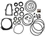 Complete Lower Unit Seal Kit for Johnson Evinrude V4, V6, V8 replaces 5006373 5000411