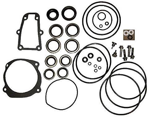 Complete Lower Unit Seal Kit for Johnson Evinrude V4, V6, V8 replaces 5006373 5000411 - Evinrude Ficht Outboards