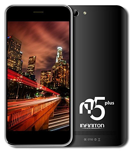Infiniton-N5-Plus-Smartphone-de-5-WiFi-Bluetooth-Quad-Core-13-GHz-Dual-SIM-16-GB-Android-44-KitKat-color-negro
